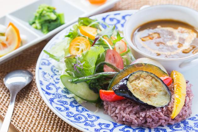夏野菜のカレーライス